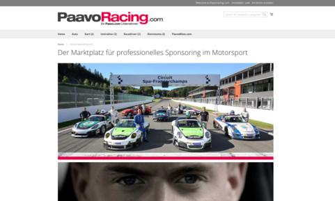 PaavoRacing - Marktplatz für Motorsport & Sponsoring